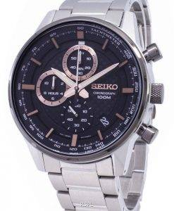 Seiko SSB331 SSB331P1 SSB331P Chronograph Quartz Men's Watch