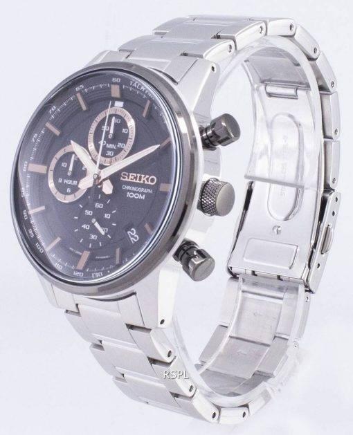 Seiko SSB331 SSB331P1 SSB331P Chronograph Quartz Men's Watch