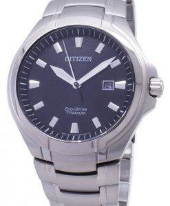 Citizen Eco-Drive BM7430-89E Titanium Analog Men's Watch