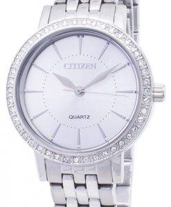Citizen Quartz EL3040-80A Analog Diamond Accents Women's Watch