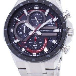 Casio Edifice EQS-920DB-1AV EQS920DB1-AV Solar Chronograph Men's Watch