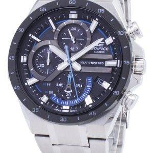 Casio Edifice EQS-920DB-1BV EQS920DB-1BV Solar Chronograph Men's Watch