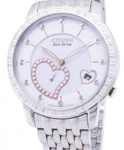 Citizen Eco-Drive EV1000-58A Diamond Accents Analog Women's Watch