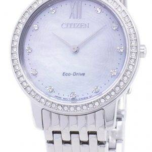Citizen Eco-Drive EX1480-82D Diamond Accents Analog Women's  Watch