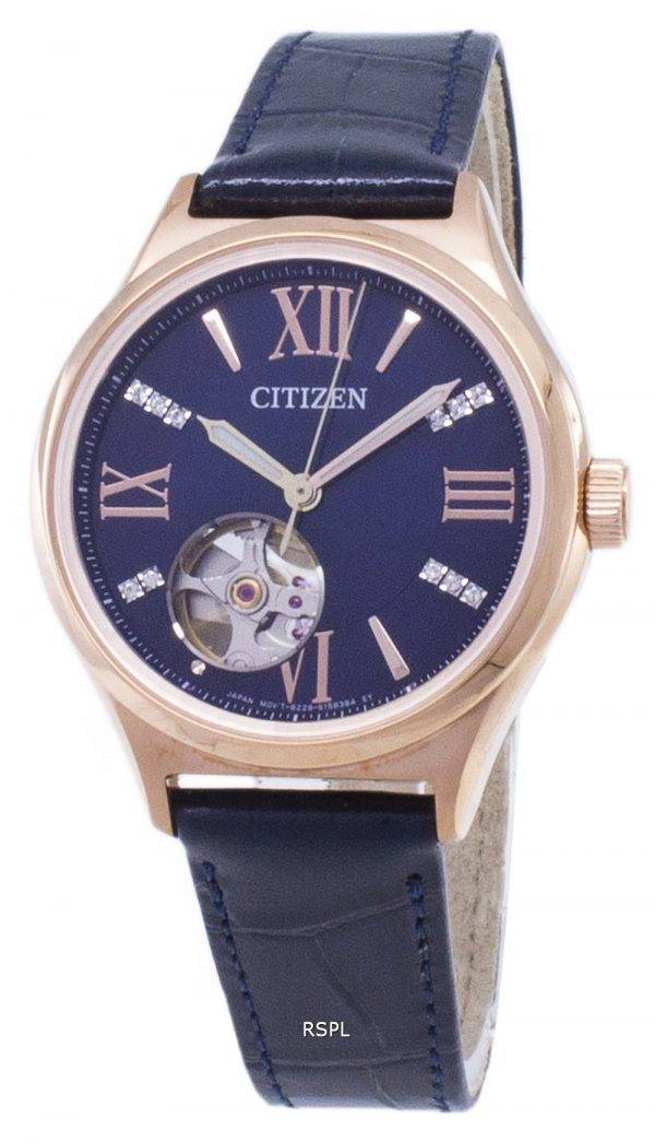 Citizen Automatic PC1003-15L Diamond Accents Analog Women's Watch