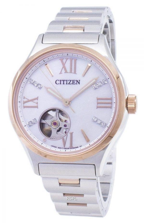 Citizen Automatic PC1009-51D Diamond Accents Analog Women's Watch