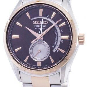 Seiko Presage Automatic Power Reserve SSA354 SSA354J1 SSA354J Japan Made Men's Watch