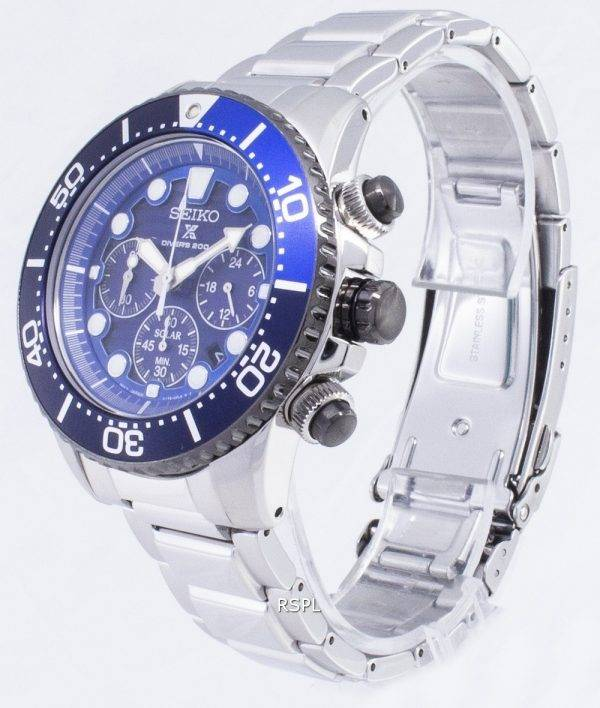 Seiko Prospex Diver's Special Edition Chronograph 200M SSC675 SSC675P1 SSC675P Men's Watch
