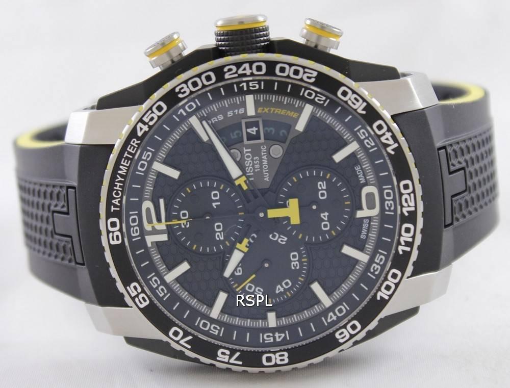 92986e02f67 Tissot T-Sport PRS 516 Extreme Automatic T079.427.27.057.01 T0794272705701  Men's Watch