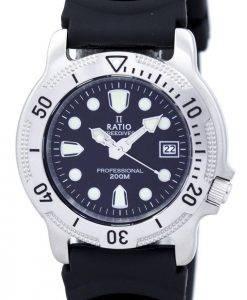 Ratio II Free Diver Professional 200M Quartz 22AD202 Men's Watch
