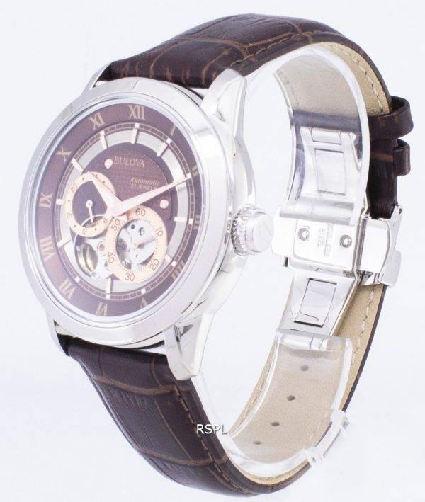 Bulova Automatic BVA Series Dual Aperture Dial 96A120 Men's Watch