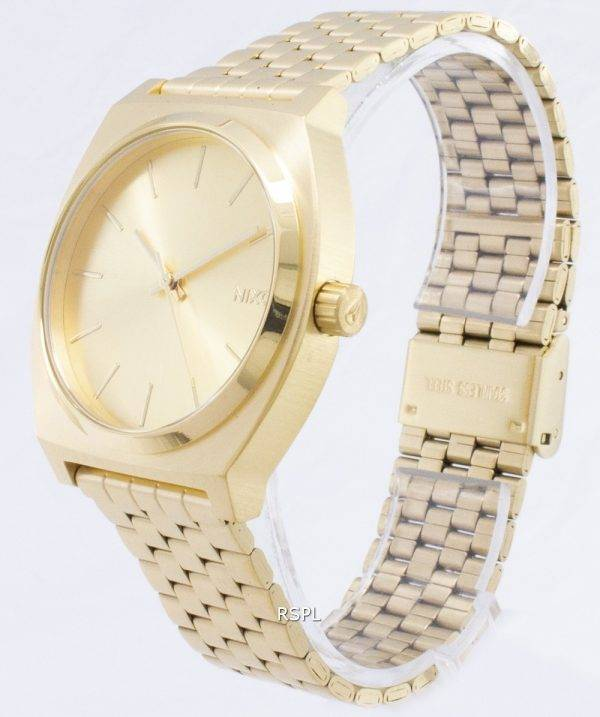 Nixon Time Teller All Gold A045-511-00 Mens Watch