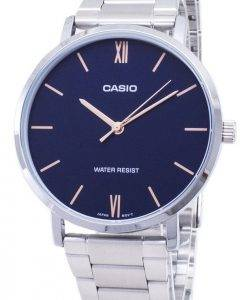 Casio Quartz MTP-VT01D-2B MTPVT01D-2B Analog Men's Watch