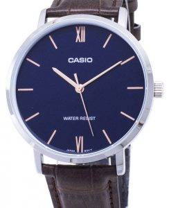 Casio Quartz MTP-VT01L-2B MTPVT01L-2B Analog Men's Watch