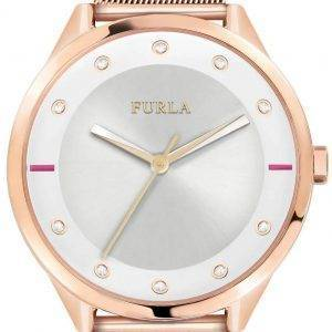 Furla Pin R4253102525 Quartz Diamond Accents Women's Watch