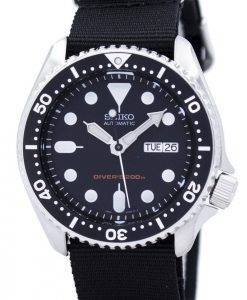 Seiko Automatic Diver's 200M NATO Strap SKX007K1-NATO4 Men's Watch