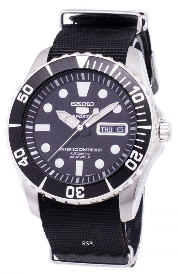 Seiko 5 Sports Automatic NATO Strap SNZF17K1-NATO4 Men's Watch