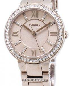 Fossil Virginia ES4482 Diamond Accents Quartz Women's Watch