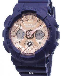 Casio G-Shock S Series GMA-S120MF-2A2 GMAS120MF-2A2 World Time 200M Women's Watch