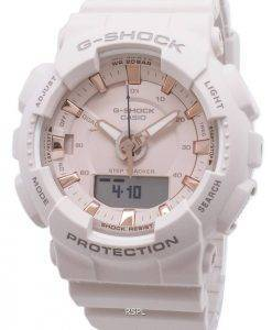 Casio G-Shock S Series GMA-S130PA-4A GMAS130PA-4A Step Tracker 200M Women's Watch