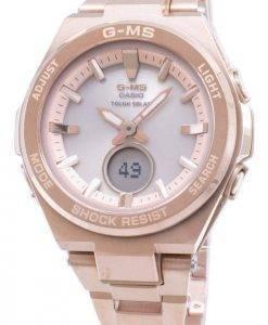 Casio Baby-G G-MS MSG-S200DG-4A MSGS200DG-4A Tough Solar Women's Watch