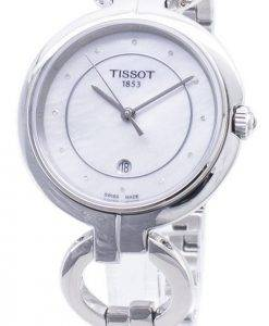 Tissot T-Lady Flamingo T094.210.11.116.00 T0942101111600 Diamond Accents Women's Watch