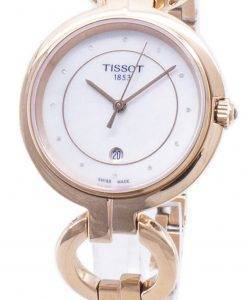 Tissot T-Lady Flamingo T094.210.33.116.01 T0942103311601 Diamond Accents Women's Watch