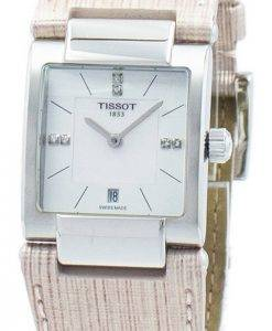 Tissot T-Lady T02 Quartz Diamond Accent T090.310.16.116.00 T0903101611600 Women's Watch