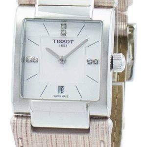 Tissot T-Lady T02 Quartz Diamond Accent T090.310.16.116.00 T0903101611600 Women's Watch