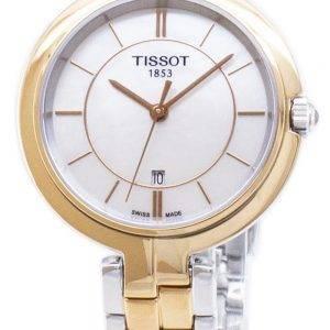 Tissot T-Lady Flamingo T094.210.22.111.00 T0942102211100 Quartz Analog Women's Watch