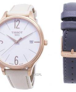 Tissot T-Lady Bella Ora Round T103.210.36.017.00 T1032103601700 Quartz Women's Watch