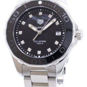 Tag Heuer Aquaracer WAY131M.BA0748 Diamond Accents Quartz 300M Women's Watch