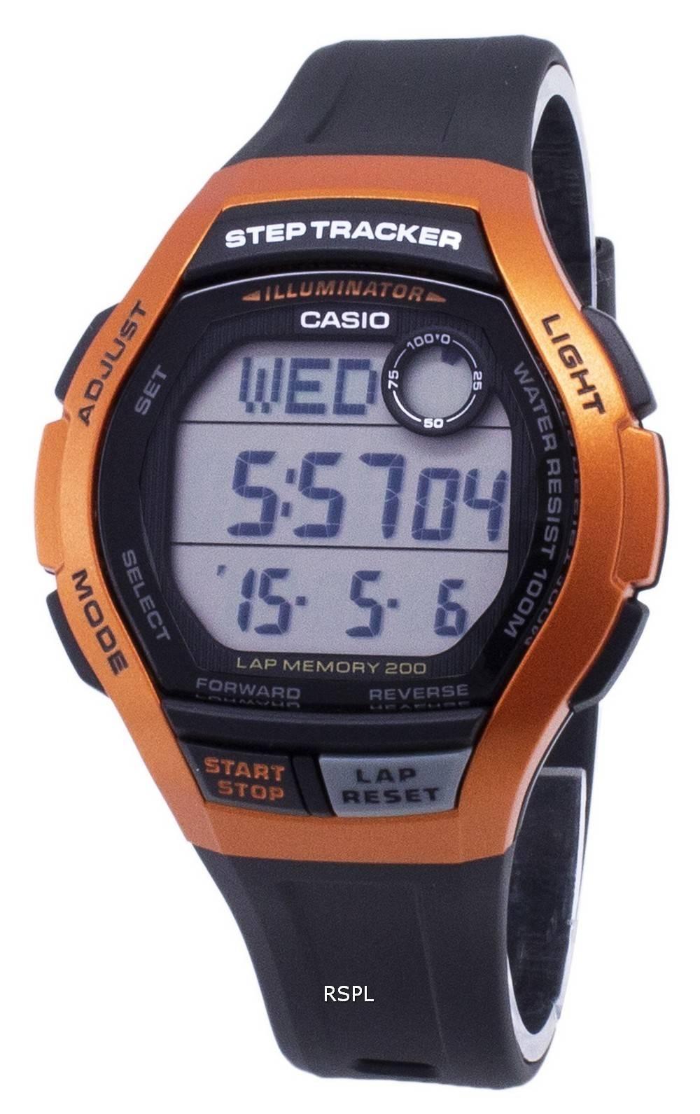 Casio Youth WS-2000H-4AV WS2000H-4AV Illuminator Digital Men's Watch