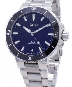 Oris Aquis Date 01 733 7731 4135-07 8 18 05P 01-733-7731-4135-07-8-18-05P Automatic 300M Men's Watch