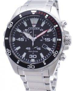 Citizen Eco-Drive AT2430-80E Chronograph Analog Men's Watch