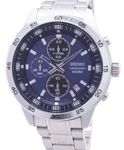 Seiko Chronograph SKS639 SKS639P1 SKS639P Quartz Analog Men's Watch