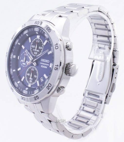 Seiko Chronograph SKS639 SKS639P1 SKS639P Quartz Analog Men's Watch