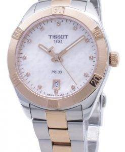 Tissot T-Classic PR100 T101.910.22.116.00 T1019102211600 Diamond Accents Women's Watch