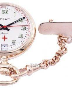 Tissot T-Pocket Pendants Petite Infirmiere T81.7.223.92 T81722392 Quartz Pocket Watch