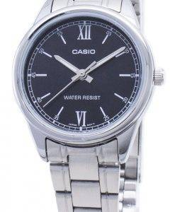 Casio Quartz LTP-V005D-1B2 LTPV005D-1B2 Analog Women's Watch