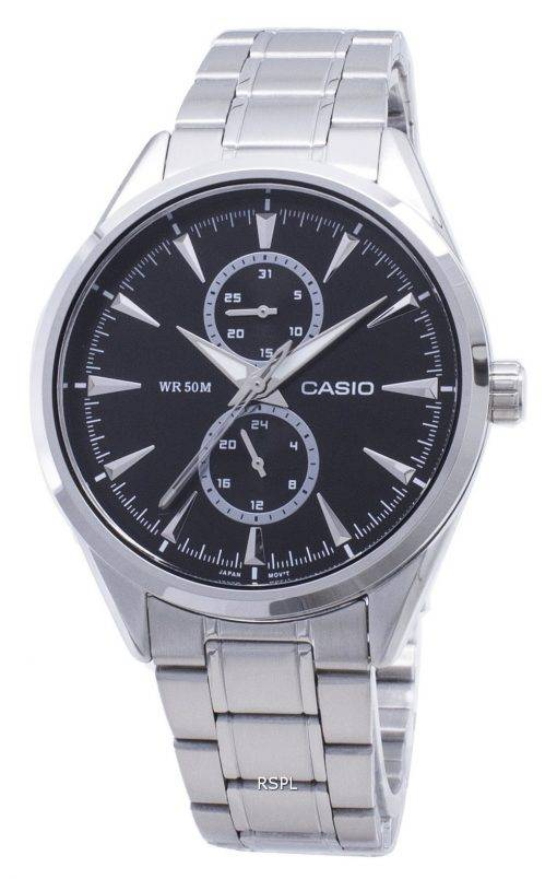 Casio Enticer MTP-SW340D-1AV MTPSW340D-1AV Quartz Men's Watch