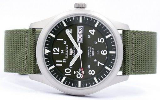 Seiko 5 Military Automatic Sports SNZG09K1 SNZG09 SNZG09K Mens Watch