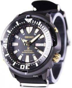 "Seiko Prospex ""Baby Tuna"" Automatic Diver's 200M SRP641K1-NATO4 Men's Watch"