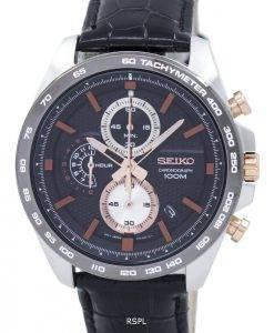 Seiko Chronograph Quartz Tachymeter SSB265 SSB265P1 SSB265P Men's Watch