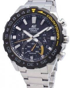 Casio Edifice EFS-S550DB-1AV EFSS550DB-1AV Chronograph Solar Men's Watch
