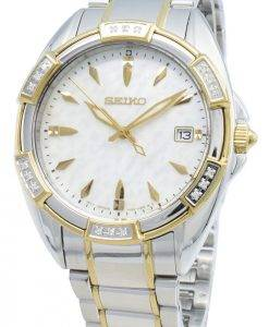 Seiko Classic SKK880P SKK880P1 SKK880 Diamond Accents Quartz Women's Watch