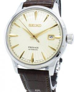 Seiko Presage SRPC99J SRPC99J1 SRPC99 23 Jewels Automatic Made In Japan Men's Watch