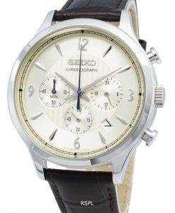 Seiko Chronograph SSB341P SSB341P1 SSB341 Analog Quartz Men's Watch