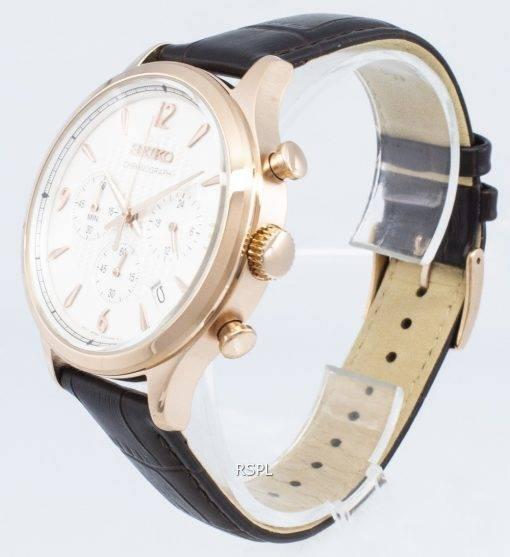 Seiko Chronograph SSB342P SSB342P1 SSB342 Analog Quartz Men's Watch
