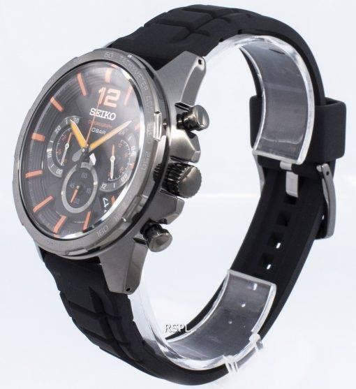 Seiko Chronograph SSB351P SSB351P1 SSB351 Tachymeter Analog Quartz Men's Watch